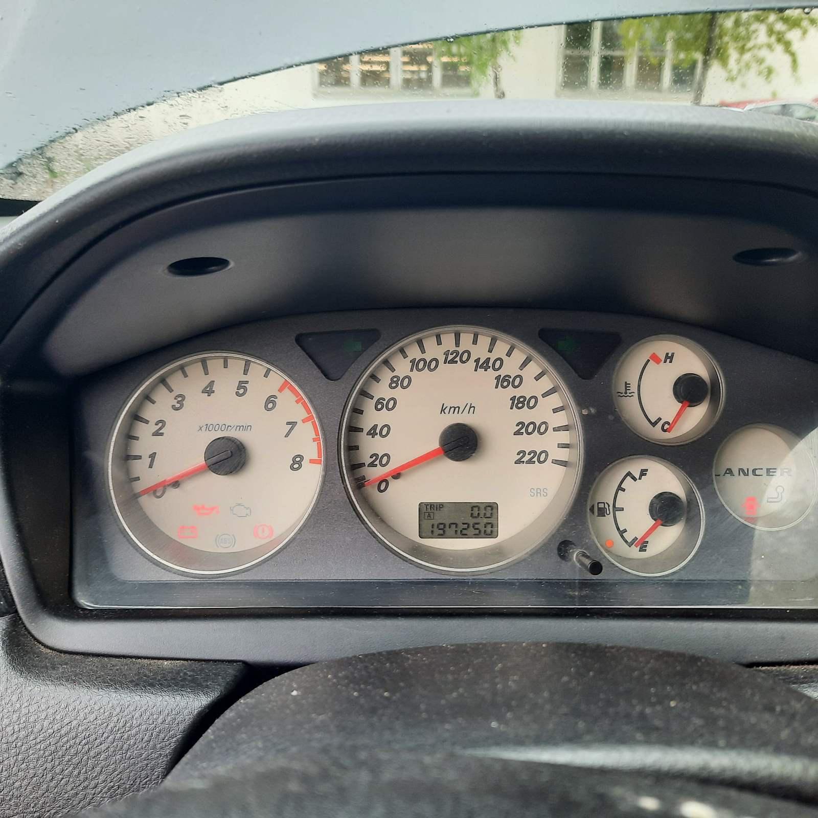 Naudotos automobilio dalys Mitsubishi LANCER 2004 1.6 Mechaninė Sedanas 4/5 d. Pilka 2021-5-18