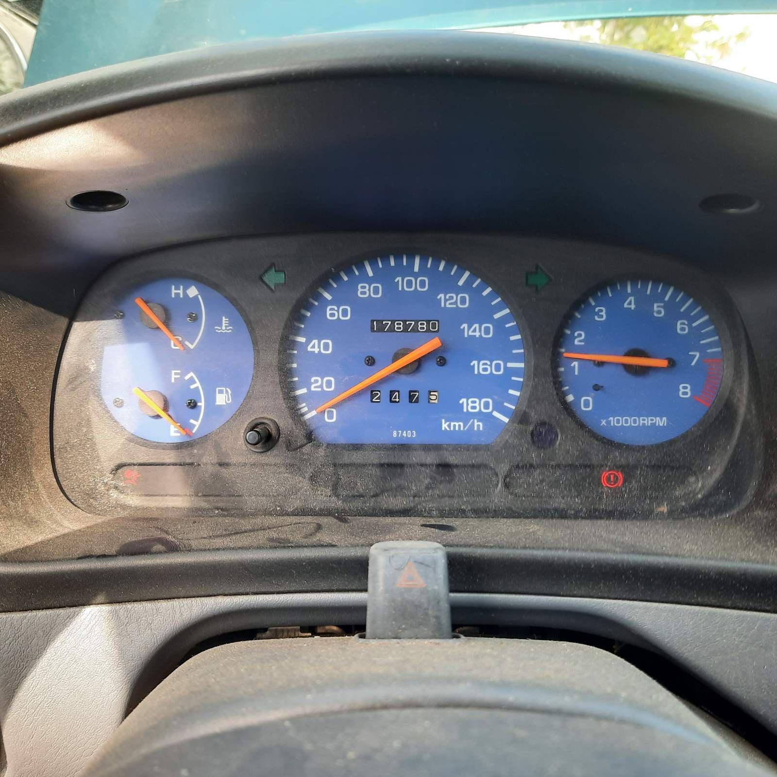 Naudotos automobilio dalys Daihatsu TERIOS 1999 1.3 Mechaninė Visureigis 4/5 d. Zalia 2021-7-31