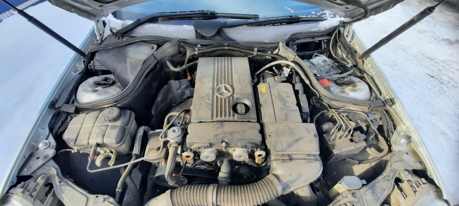Naudotos automobiliu dallys Foto 3 Mercedes-Benz C-CLASS 2007 1.8 Mechaninė Sedanas 4/5 d. Sidabrine 2021-2-08 A6054