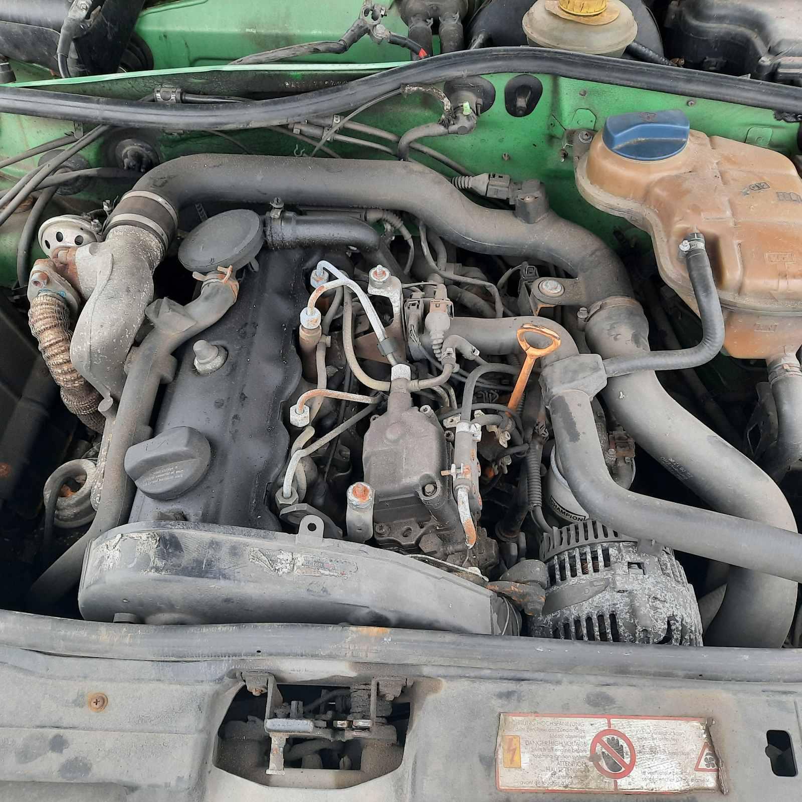 Naudotos automobiliu dallys Foto 2 Audi A4 1997 1.9 Automatinė Universalas 4/5 d. Zalia 2021-4-01 A6128