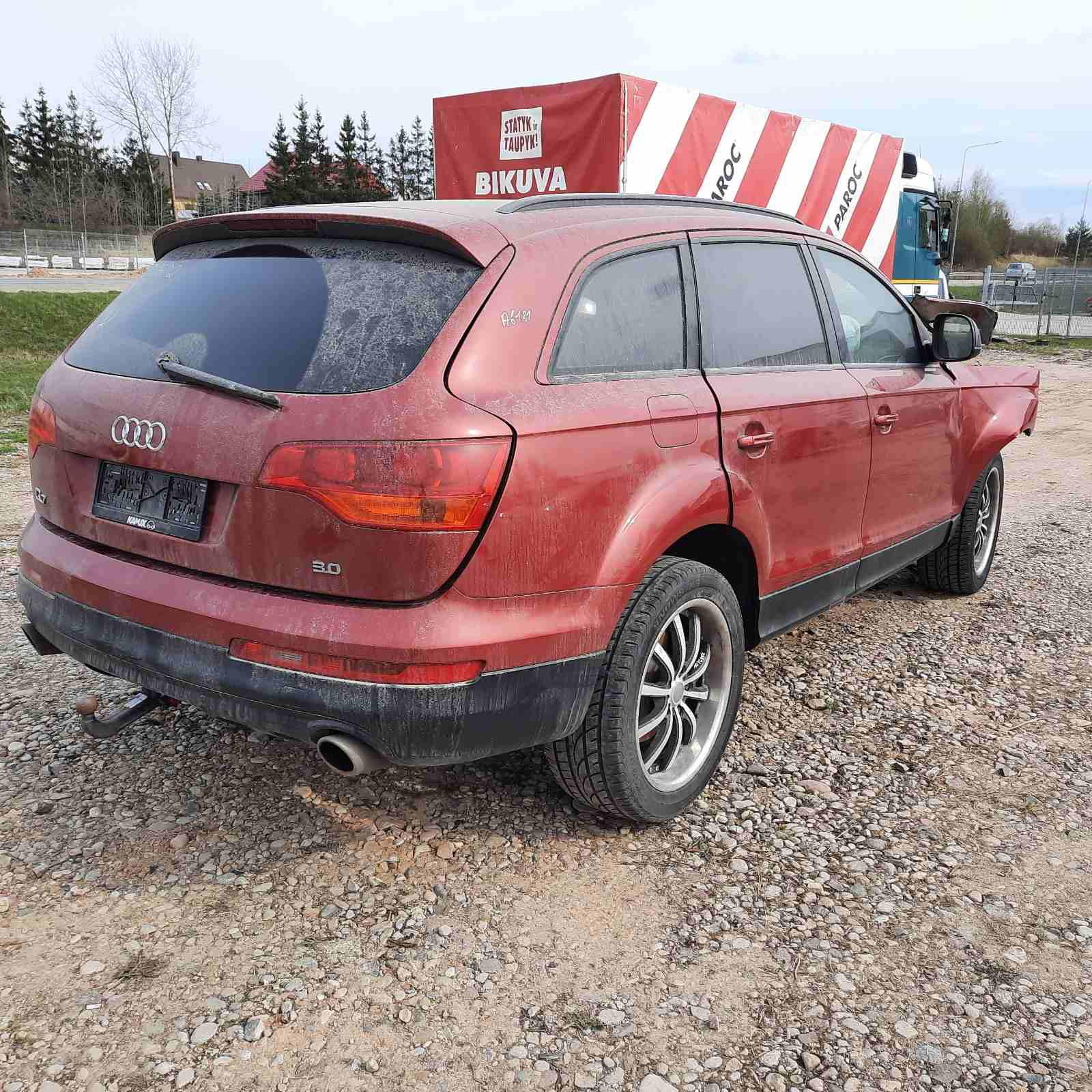 Used Car Parts Foto 7 Audi Q7 2006 3.0 Automatic Jeep 4/5 d. Red 2021-4-29 A6181