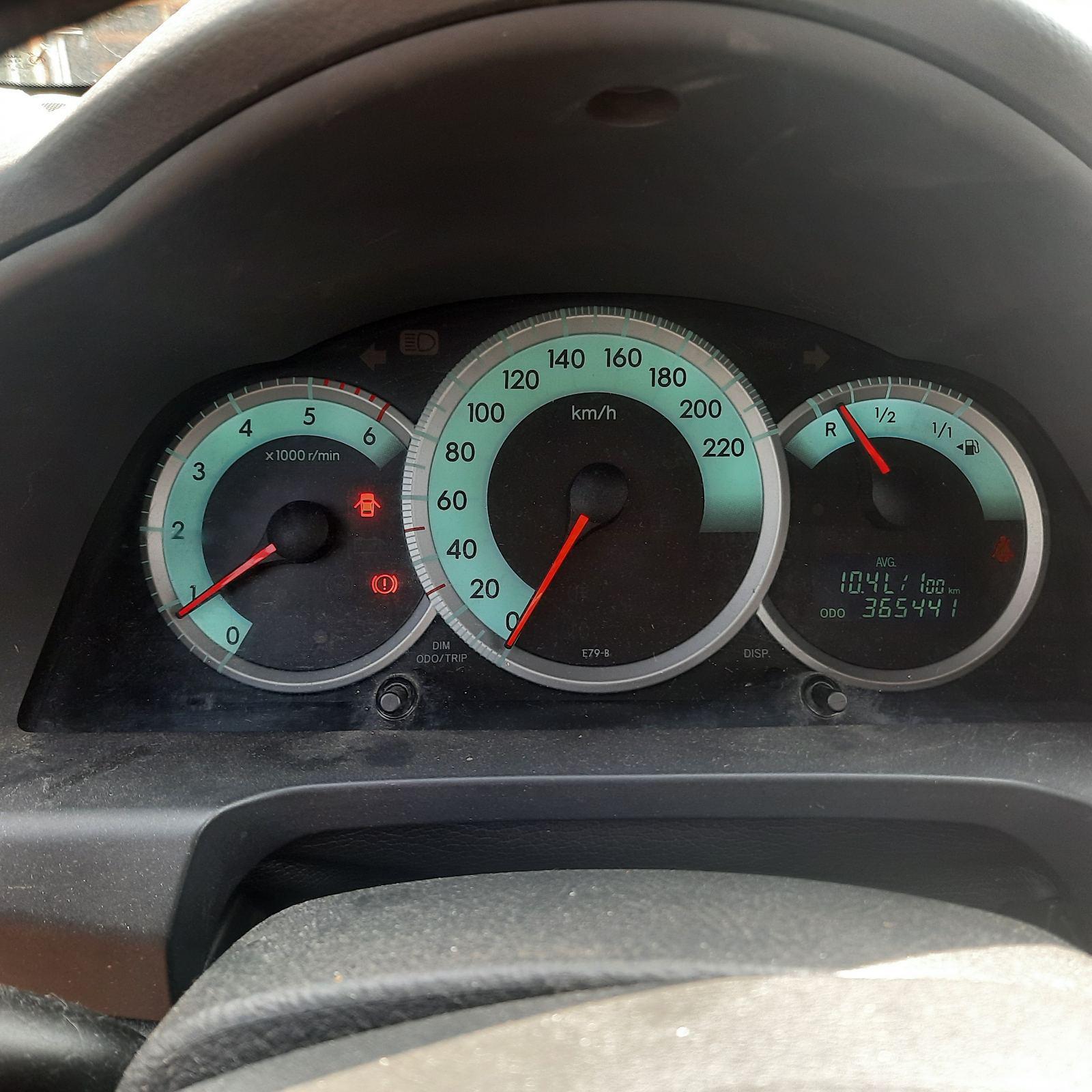 Naudotos automobilio dalys Toyota COROLLA VERSO 2005 2.0 Mechaninė Vienatūris 4/5 d. Balta 2021-7-16
