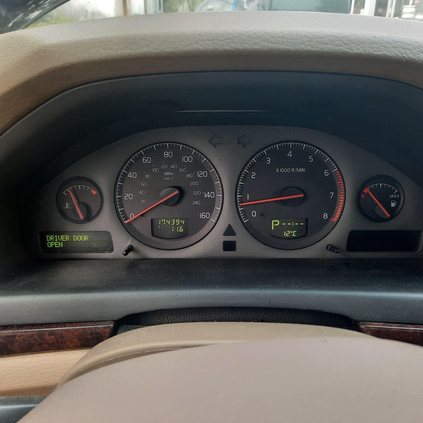 Naudotos automobilio dalys Volvo S80 2002 2.9 Automatinė Sedanas 4/5 d. Melyna 2021-9-06