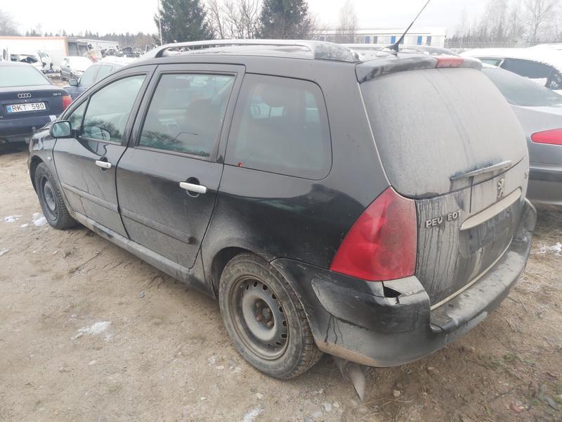 Naudotos automobiliu dallys Foto 9 Peugeot 307 2003 2.0 Mechaninė Universalas 4/5 d. Juoda 2020-12-01 A5880