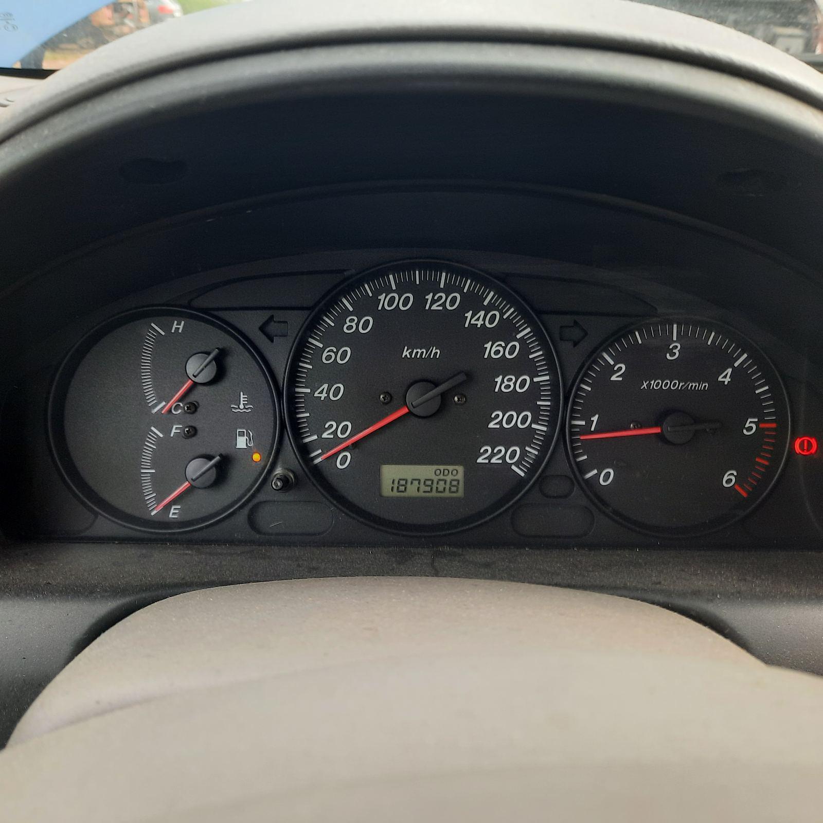 Naudotos automobilio dalys Mazda PREMACY 2001 2.0 Mechaninė Vienatūris 4/5 d. Melyna 2021-7-28