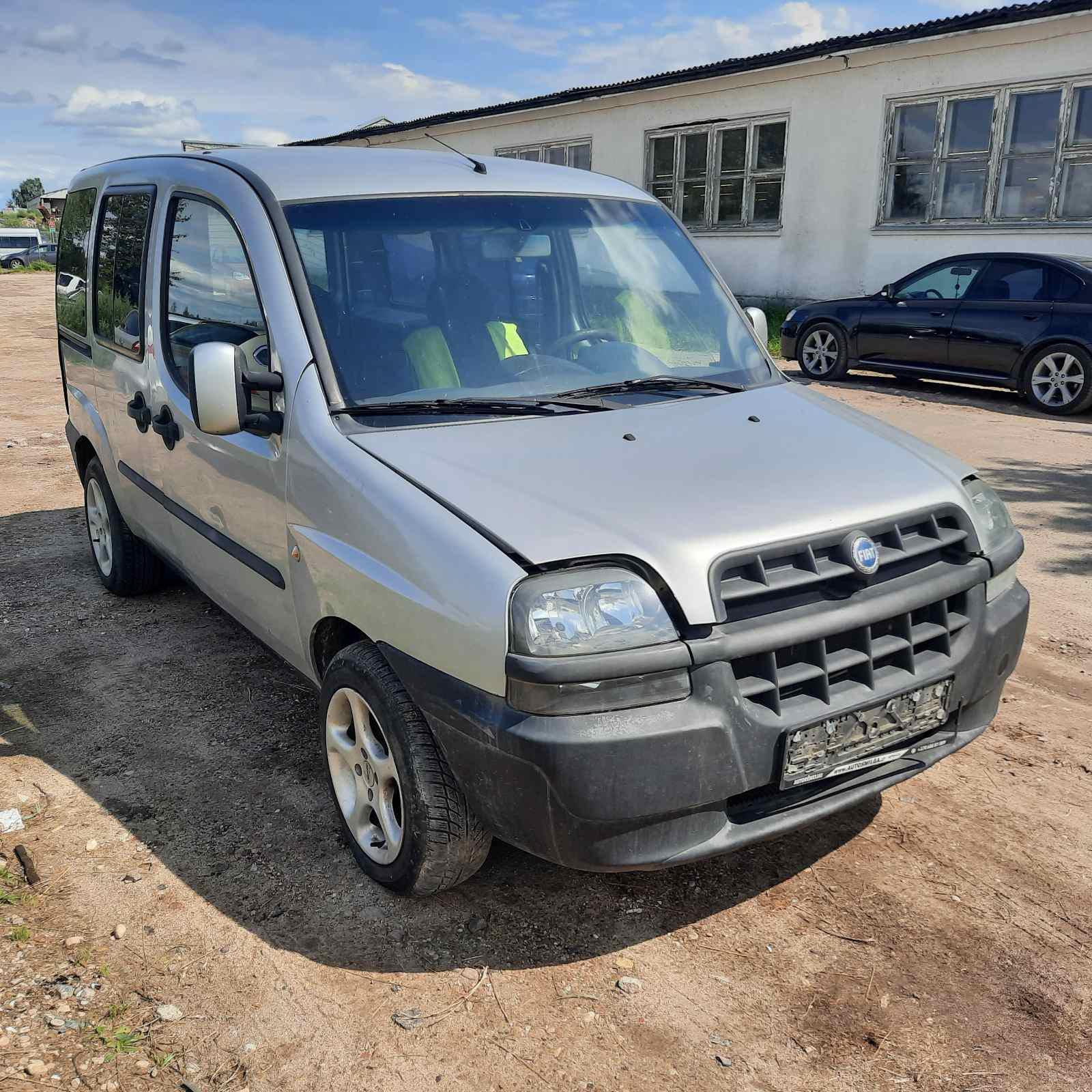 Naudotos automobilio dalys Fiat DOBLO 2003 1.9 Mechaninė Komercinis 2/3 d. Sidabrine 2021-8-04