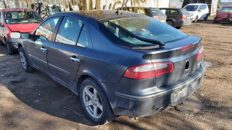 Naudotos automobiliu dallys Foto 6 Renault LAGUNA 2002 1.9 Mechaninė Hečbekas 4/5 d. Juoda 2021-5-01 A6189