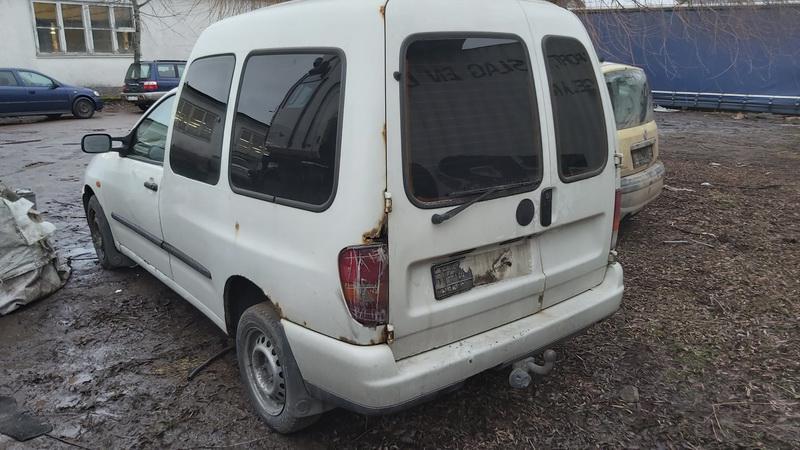Naudotos automobiliu dallys Foto 7 Volkswagen CADDY 2001 1.9 Mechaninė Komercinis 2/3 d. Balta 2020-12-23 A5961