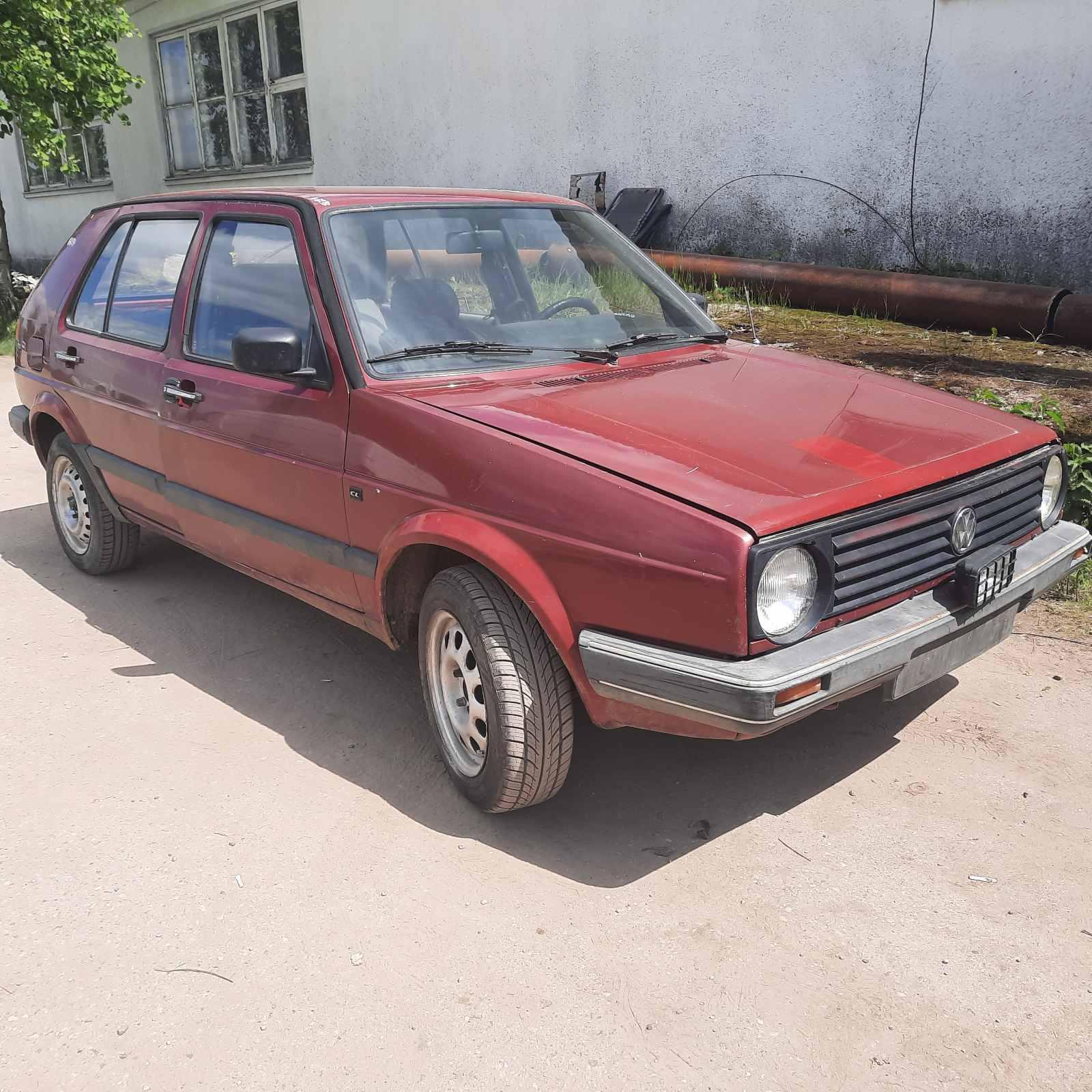 Foto-1 Volkswagen Golf Golf, II 1983.08 - 1992.07 1988 Petrol 1.6