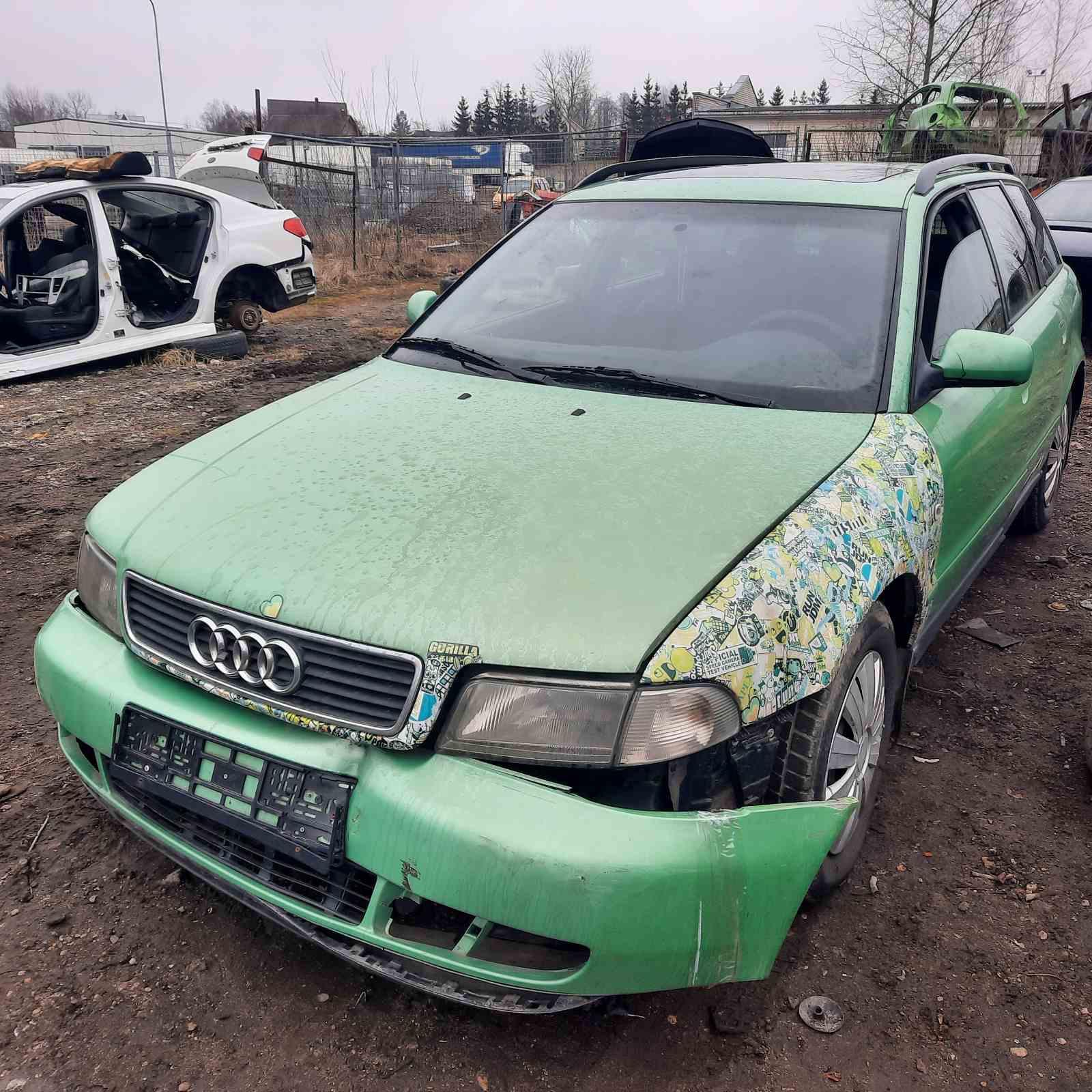 Naudotos automobiliu dallys Foto 3 Audi A4 1997 1.9 Automatinė Universalas 4/5 d. Zalia 2021-4-01 A6128