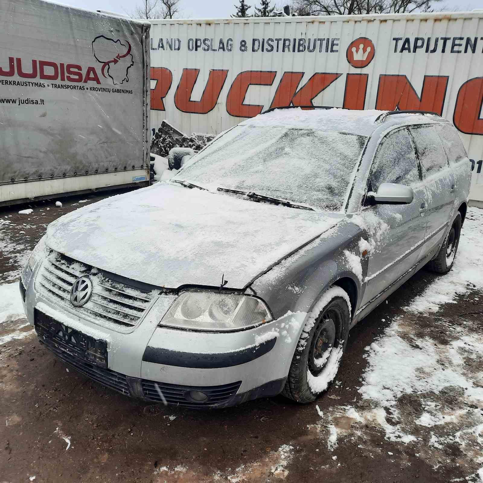 Naudotos automobiliu dallys Foto 3 Volkswagen PASSAT 2003 2.0 Mechaninė Universalas 4/5 d. Sidabrine 2021-4-06 A6130