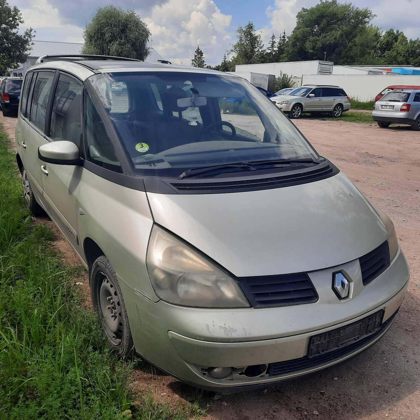 Renault ESPACE 2005 1.9 Mechaninė