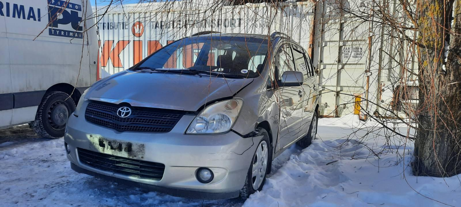 Used Car Parts Foto 2 Toyota COROLLA VERSO 2003 2.0 Mechanical Minivan 4/5 d. Grey 2021-2-18 A6058