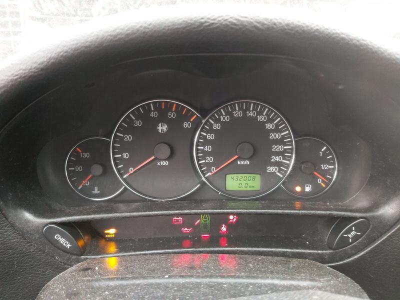 Подержанные Автозапчасти Foto 7 Alfa-Romeo 166 1999 2.4 машиностроение седан 4/5 d. Серый 2020-11-21 A5842