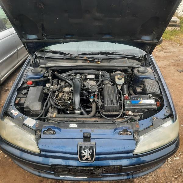 Naudotos automobiliu dallys Foto 3 Peugeot 406 1996 1.9 Mechaninė Sedanas 4/5 d. Melyna 2021-10-13 A6737