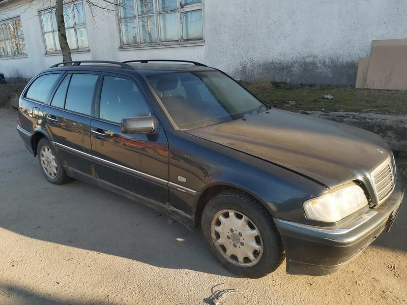 Naudotos automobilio dalys Mercedes-Benz C-CLASS 1998 2 Mechaninė Universalas 4/5 d. Melyna 2020-12-08