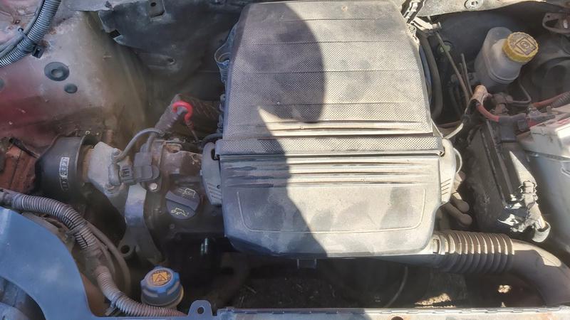 Подержанные Автозапчасти Foto 3 Fiat PANDA 2006 1.1 машиностроение хэтчбэк 4/5 d. красный 2021-5-01 A6190