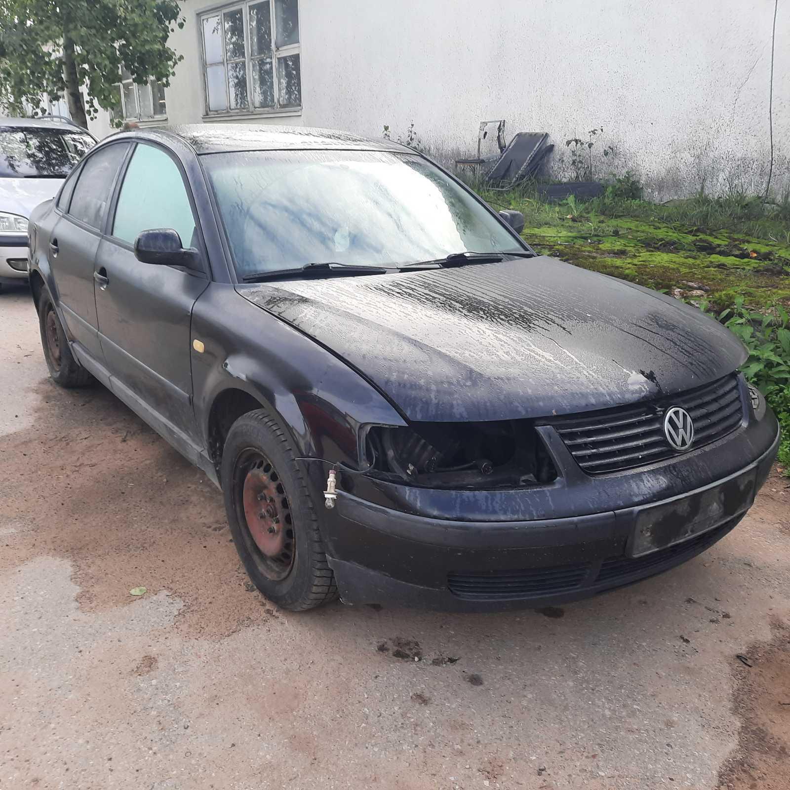 Naudotos automobilio dalys Volkswagen PASSAT 1997 1.9 Mechaninė Sedanas 4/5 d. Juoda 2021-9-02