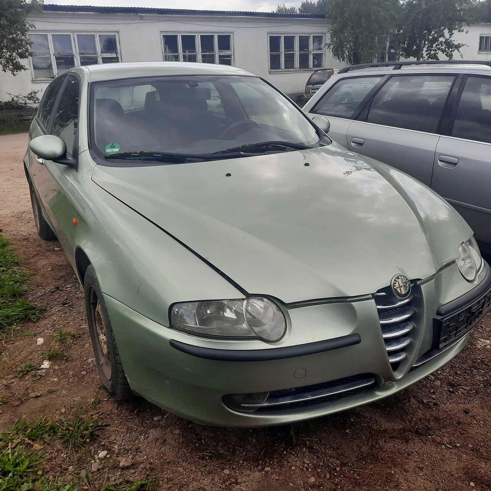 Naudotos automobilio dalys Alfa-Romeo 147 2003 1.6 Mechaninė Hečbekas 4/5 d. Zalia 2021-8-14