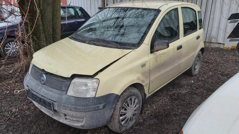 Foto-4 Fiat Panda Panda 2003 - 2012 2005 Benzinas 1.0