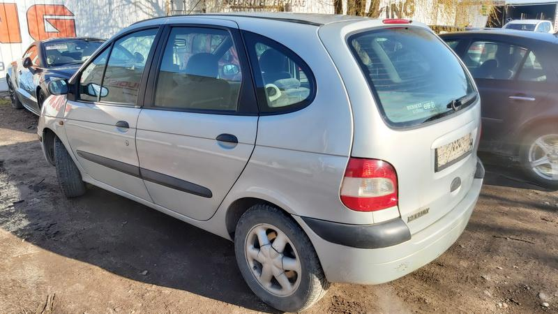 Used Car Parts Foto 8 Renault SCENIC 2000 1.6 Automatic Minivan 4/5 d. Grey 2021-5-01 A6188