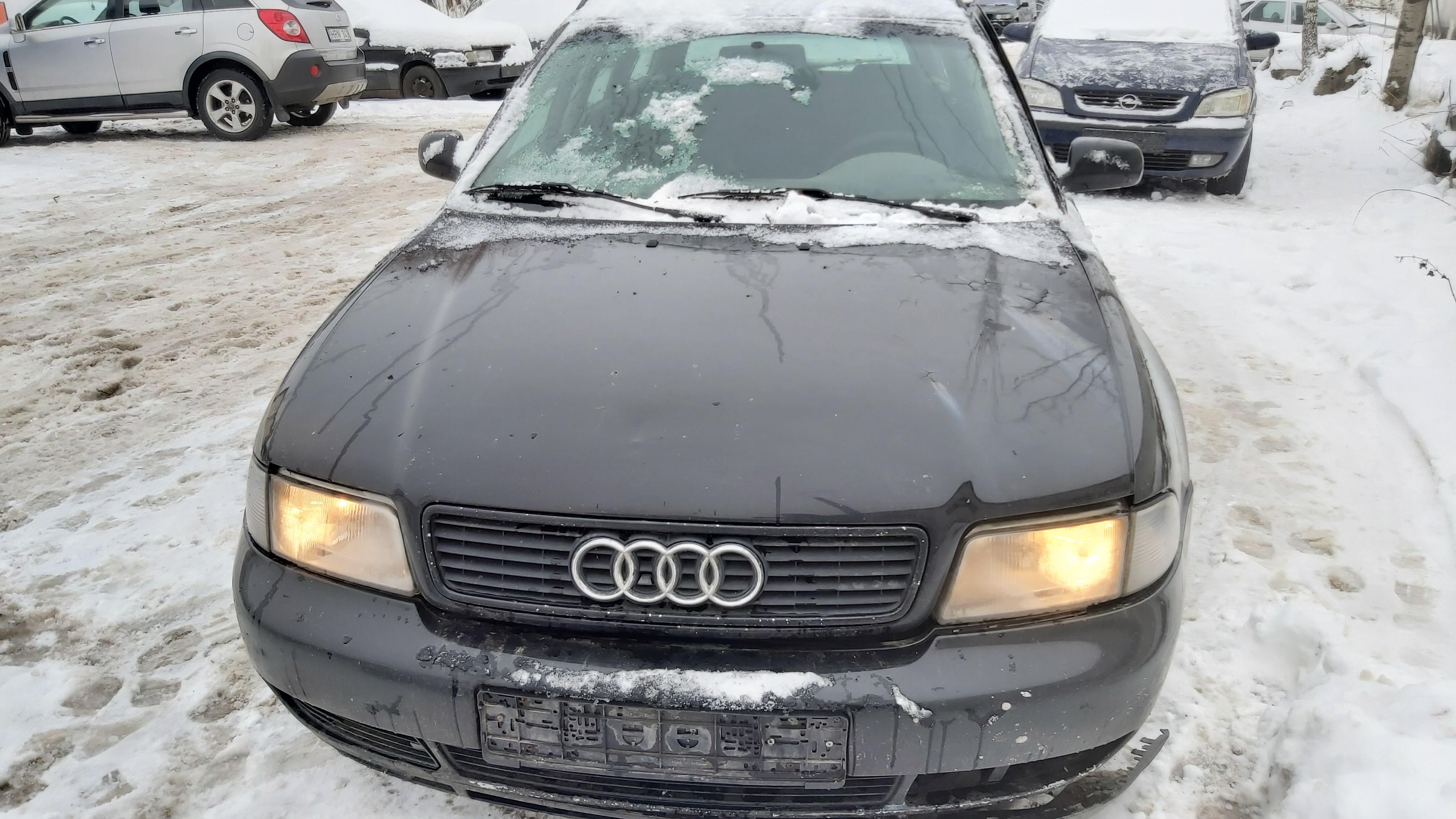 Naudotos automobiliu dallys Foto 3 Audi A4 1996 1.9 Mechaninė Universalas 4/5 d. Juoda 2021-1-12 A6027