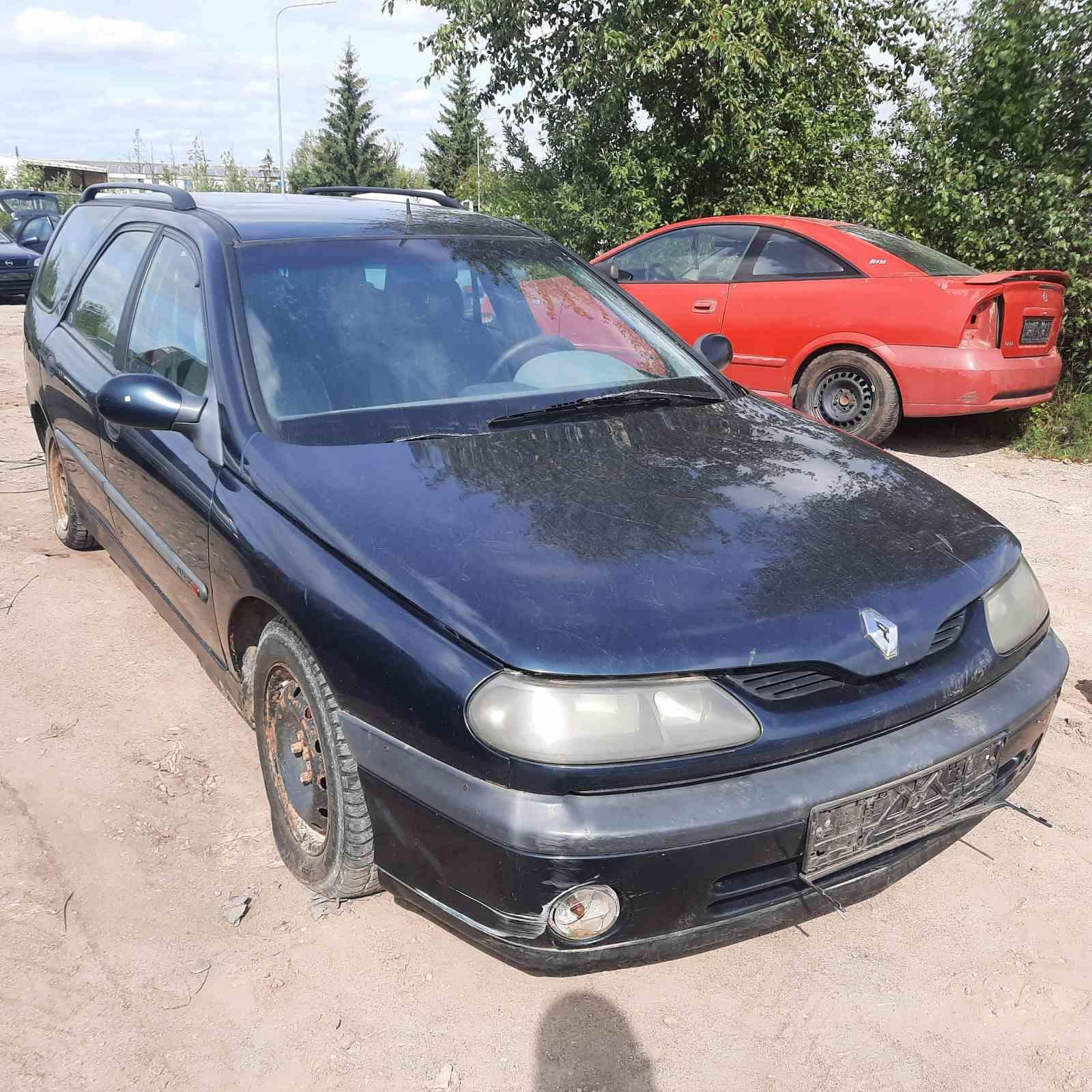 Naudotos automobilio dalys Renault LAGUNA 1998 1.9 Mechaninė Universalas 4/5 d. Zalia 2021-8-25
