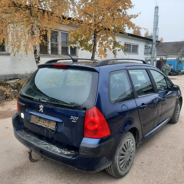 Naudotos automobiliu dallys Foto 5 Peugeot 307 2005 1.6 Mechaninė Universalas 4/5 d. Melyna 2021-10-14 A6742