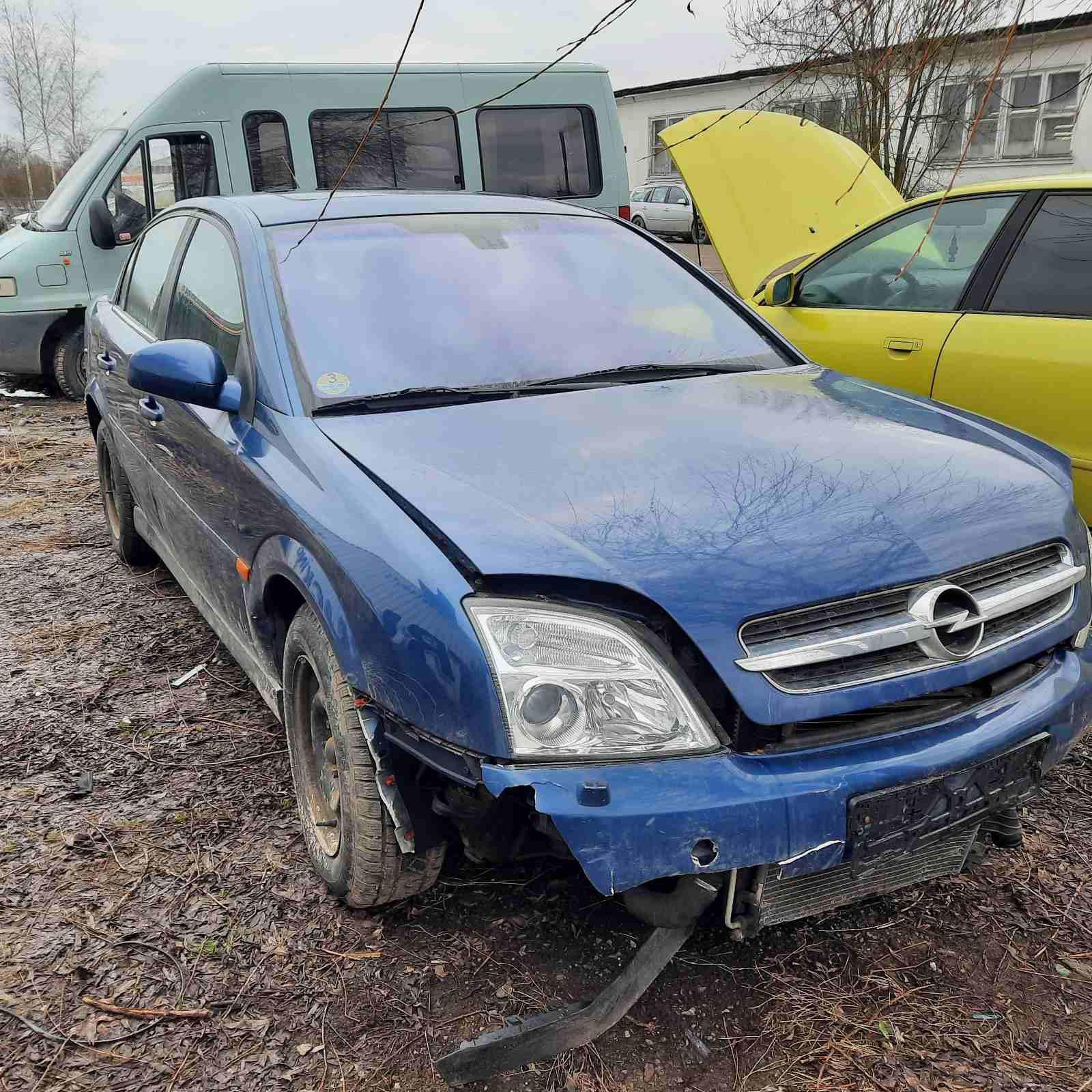 Naudotos automobilio dalys Opel VECTRA 2002 2.2 Mechaninė Sedanas 4/5 d. Melyna 2021-3-24