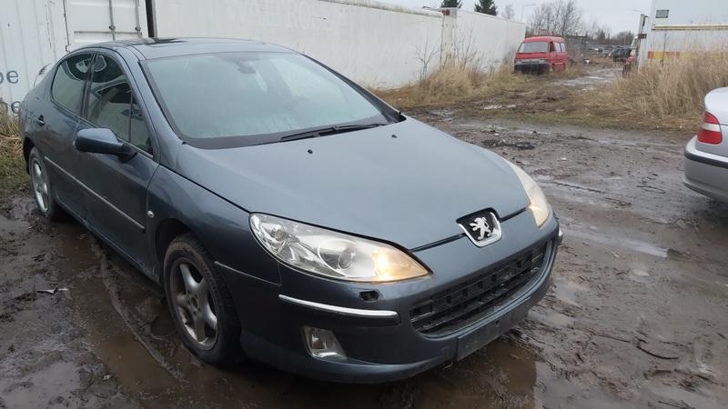 Naudotos automobilio dalys Peugeot 407 2004 2.0 Mechaninė Sedanas 4/5 d. Melyna 2020-12-29