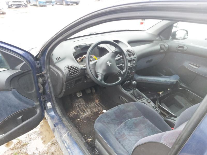 Naudotos automobilio dalys Peugeot 206 1999 1.4 Mechaninė Hečbekas 2/3 d. Melyna 2020-11-27