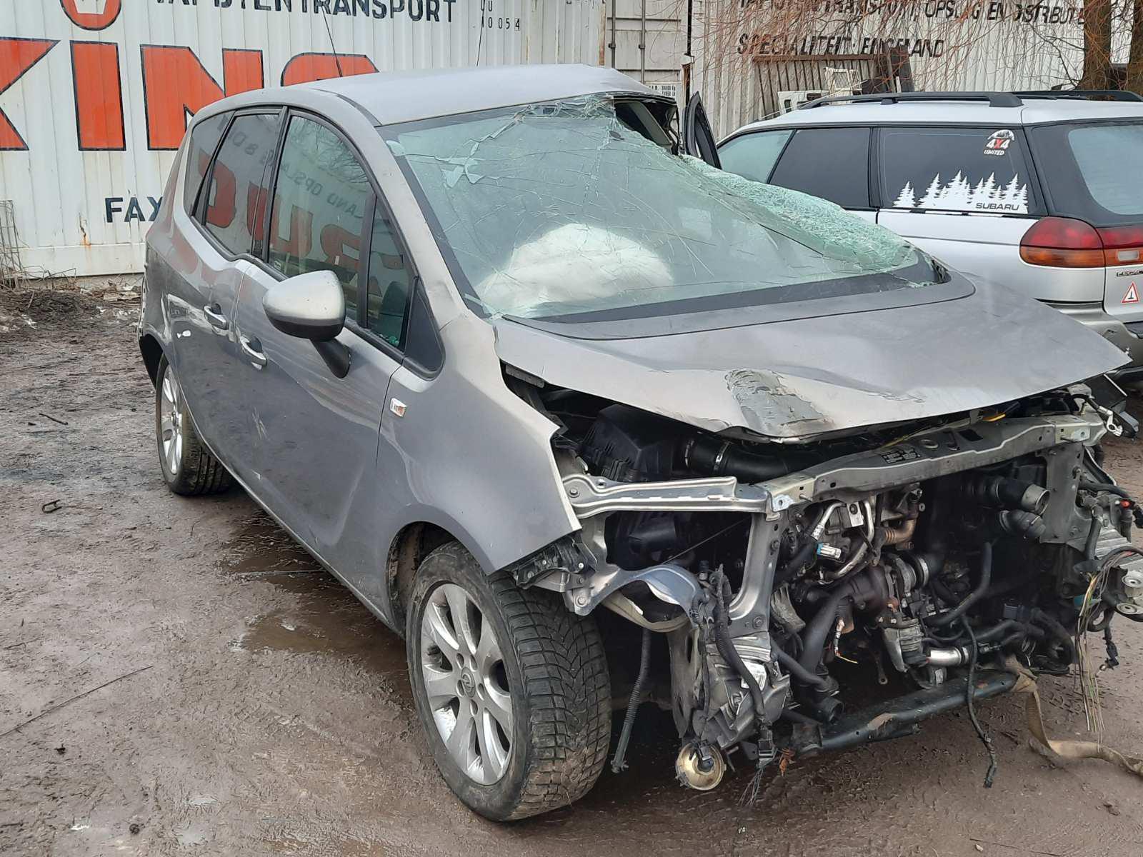 Подержанные Автозапчасти Opel MERIVA 2011 1.7 машиностроение минивэн 4/5 d. Браун 2021-3-04