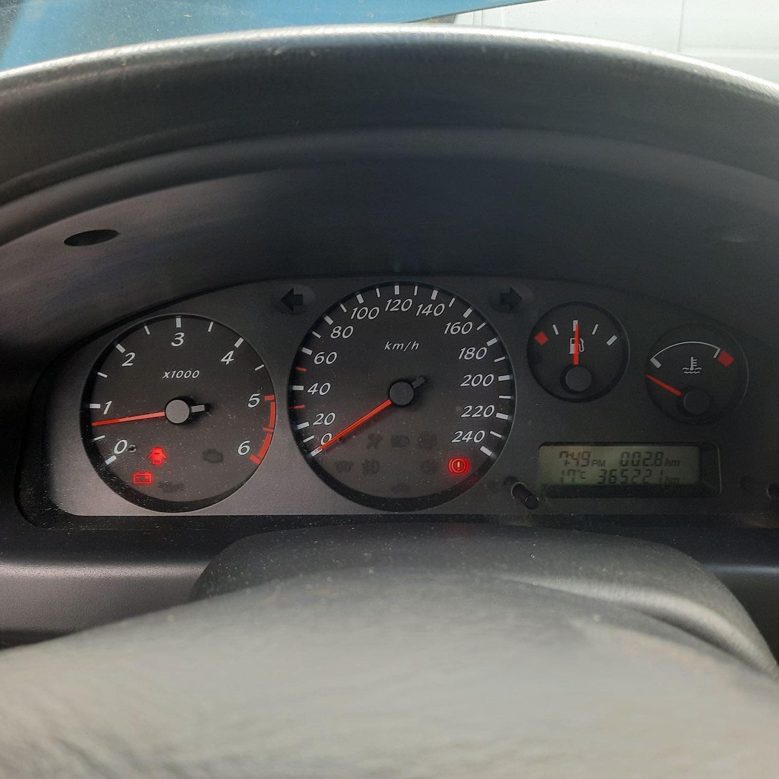 Naudotos automobilio dalys Nissan ALMERA 2002 2.2 Mechaninė Hečbekas 2/3 d. Melyna 2021-6-02