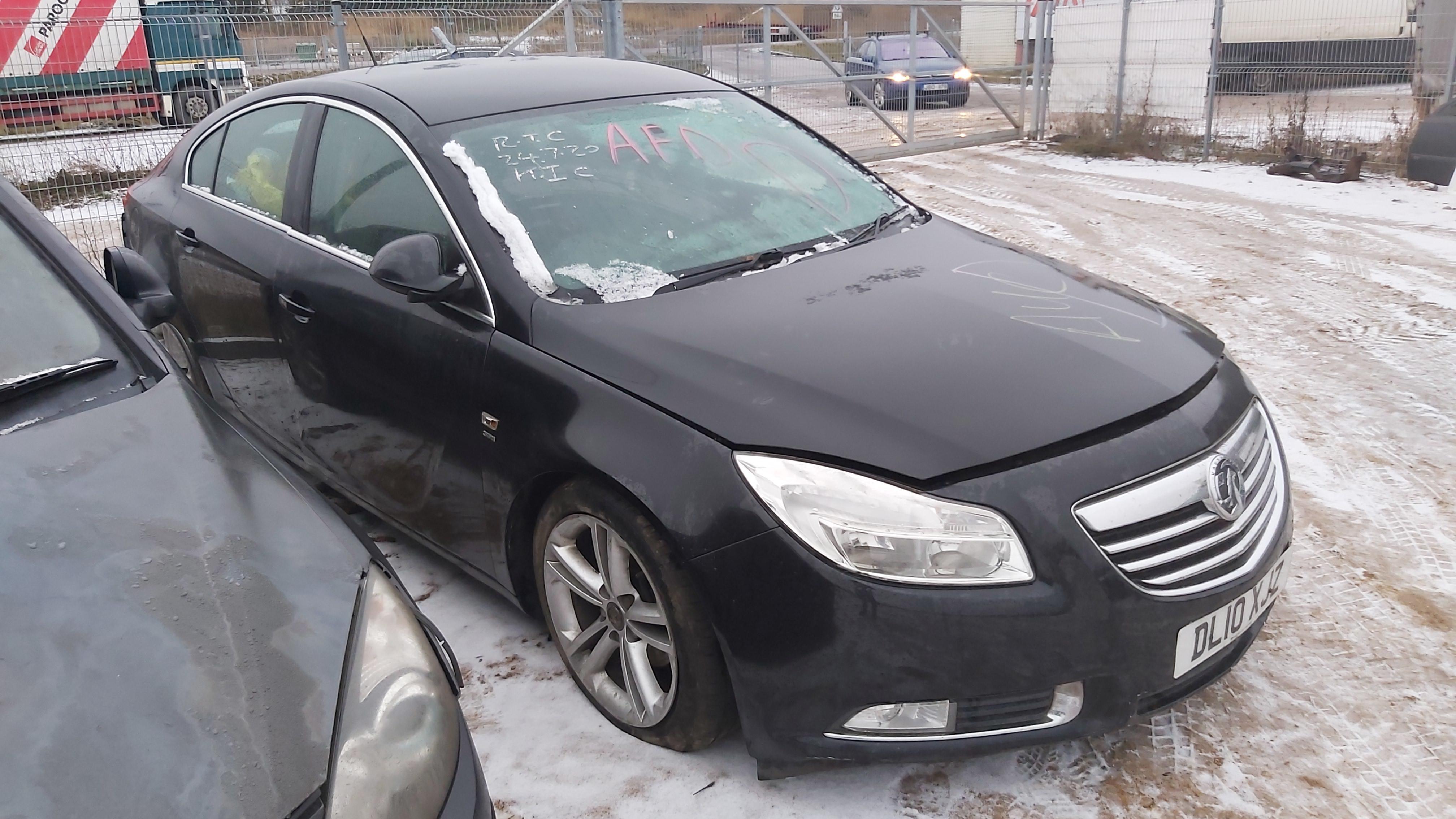 Naudotos automobilio dalys Opel INSIGNIA 2010 2.0 Mechaninė Hečbekas 4/5 d. Juoda 2020-12-11