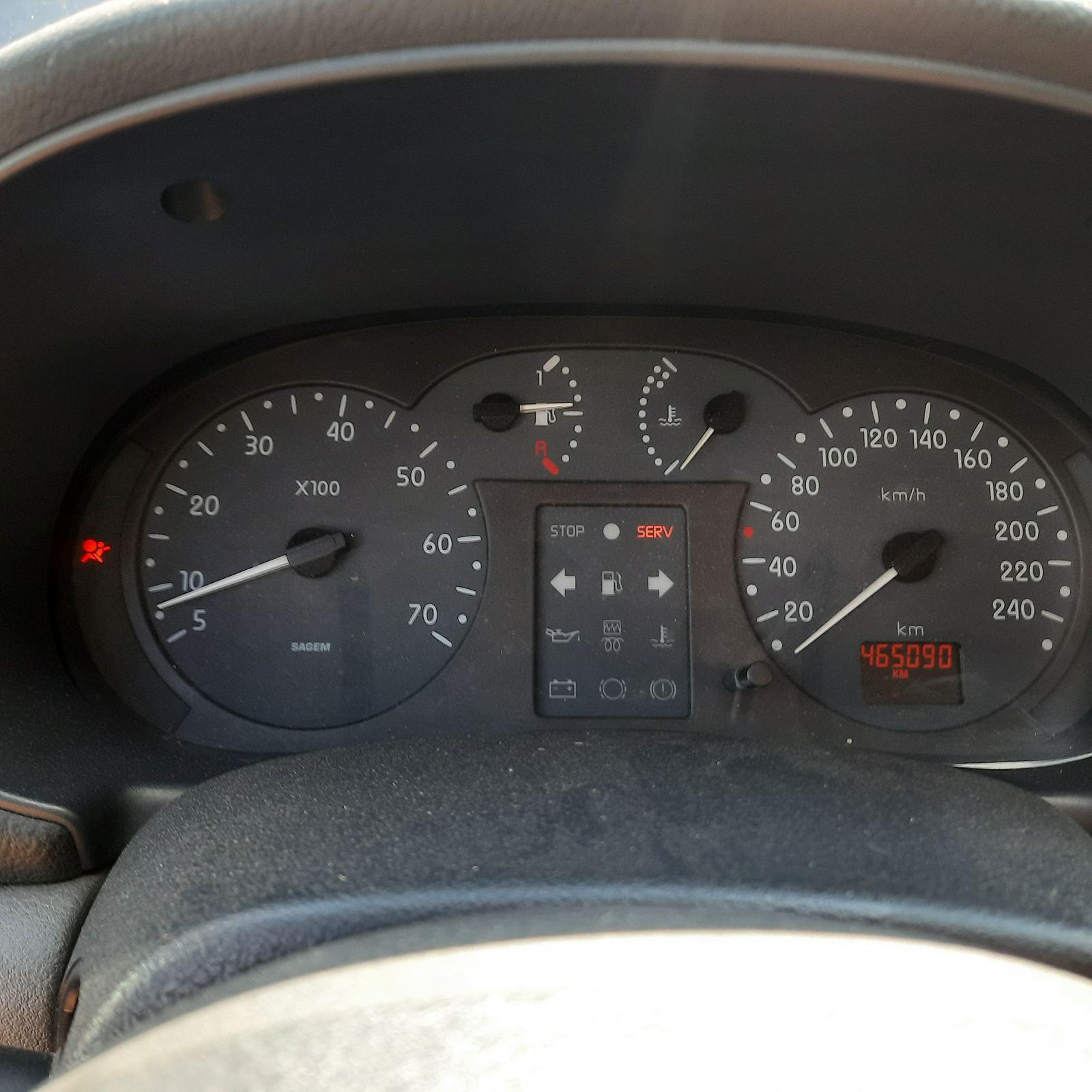 Naudotos automobilio dalys Renault CLIO 2000 1.9 Mechaninė Hečbekas 4/5 d. Melyna 2021-8-10