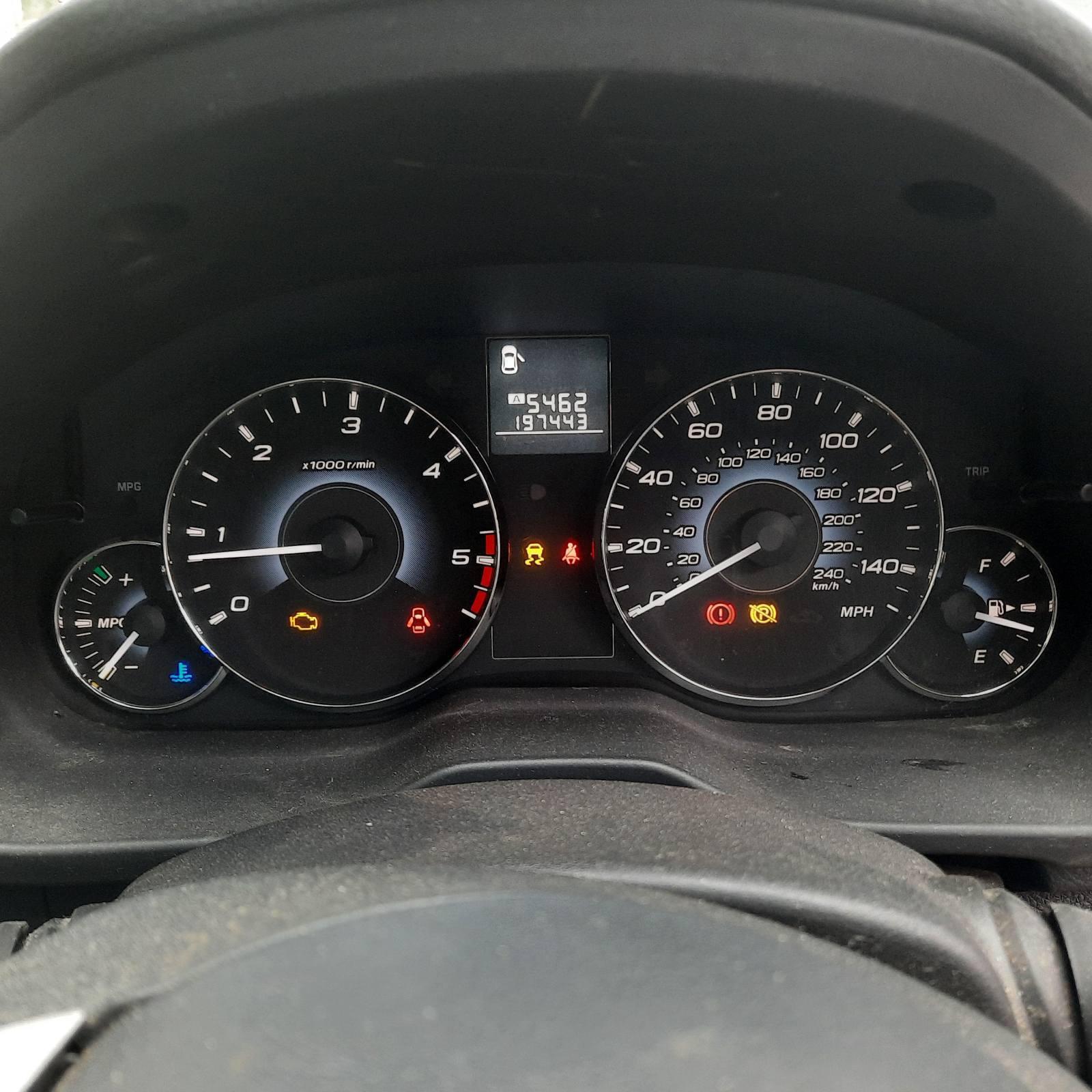 Подержанные Автозапчасти Subaru OUTBACK 2010 2.0 машиностроение универсал 4/5 d. черный 2021-7-27