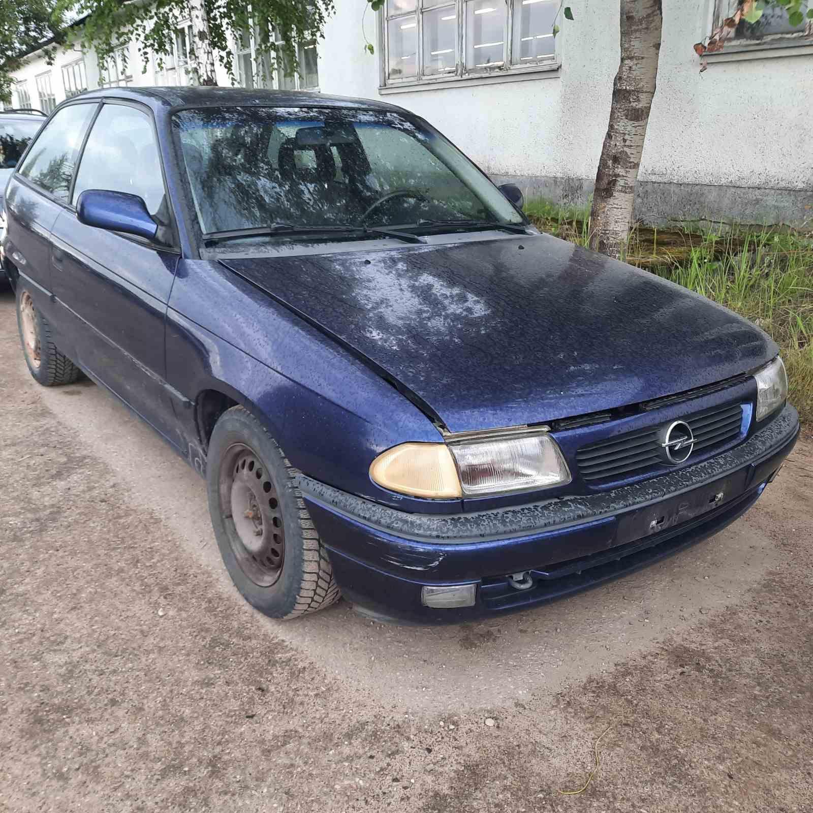 Opel ASTRA 1997 1.6 машиностроение