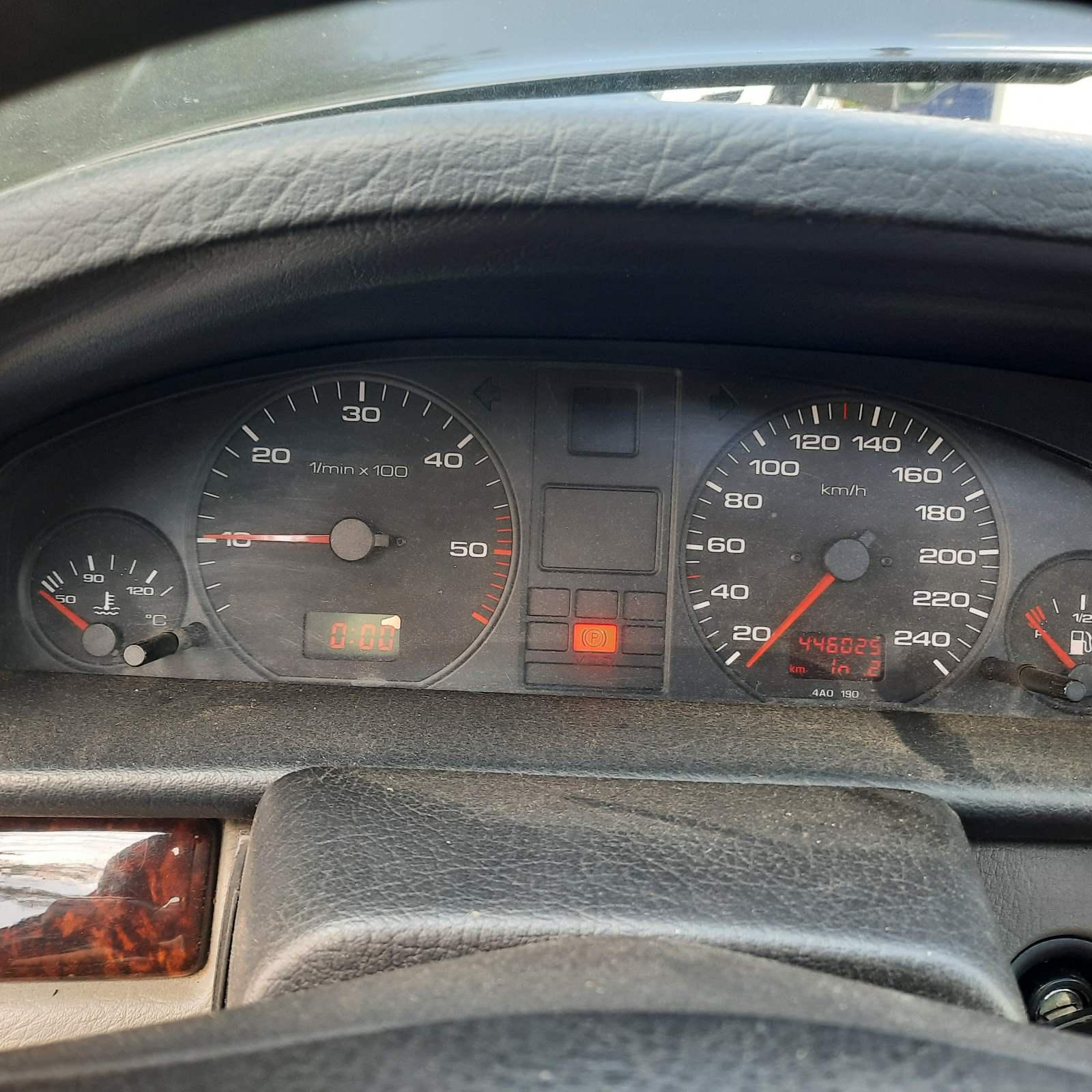 Naudotos automobilio dalys Audi 100 1991 2.5 Mechaninė Sedanas 4/5 d. Juoda 2021-7-19