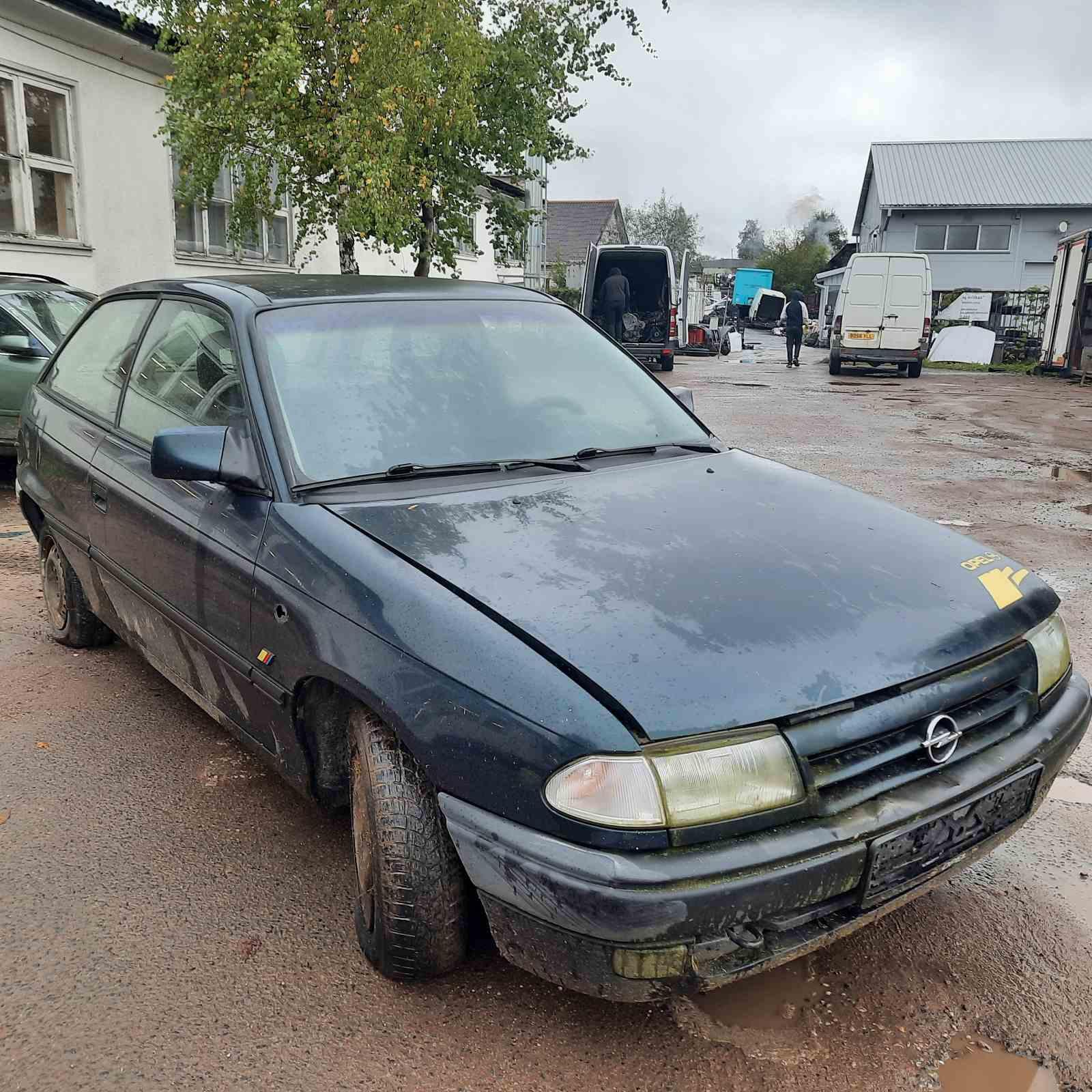 Naudotos automobilio dalys Opel ASTRA 1992 1.7 Mechaninė Hečbekas 2/3 d. Zalia 2021-9-21