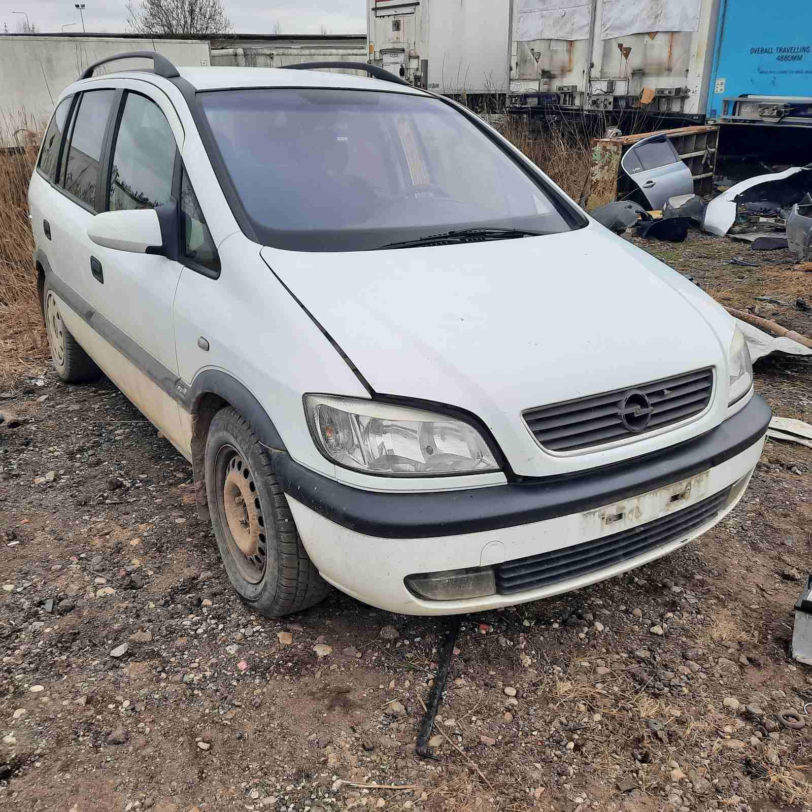 Naudotos automobilio dalys Opel ZAFIRA 2000 2.0 Mechaninė Vienatūris 4/5 d. Balta 2021-4-13