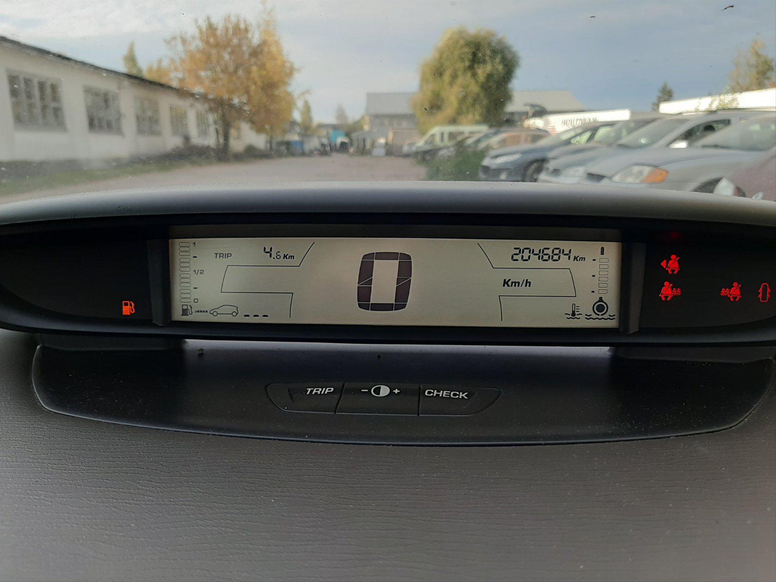 Naudotos automobilio dalys Citroen C4 2007 1.6 Mechaninė Hečbekas 4/5 d. Smelio 2021-10-05
