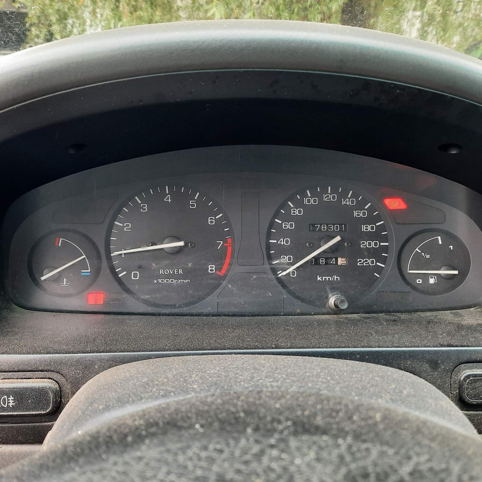 Naudotos automobilio dalys Rover 400-SERIES 1995 1.6 Mechaninė Hečbekas 4/5 d. Pilka 2021-6-01