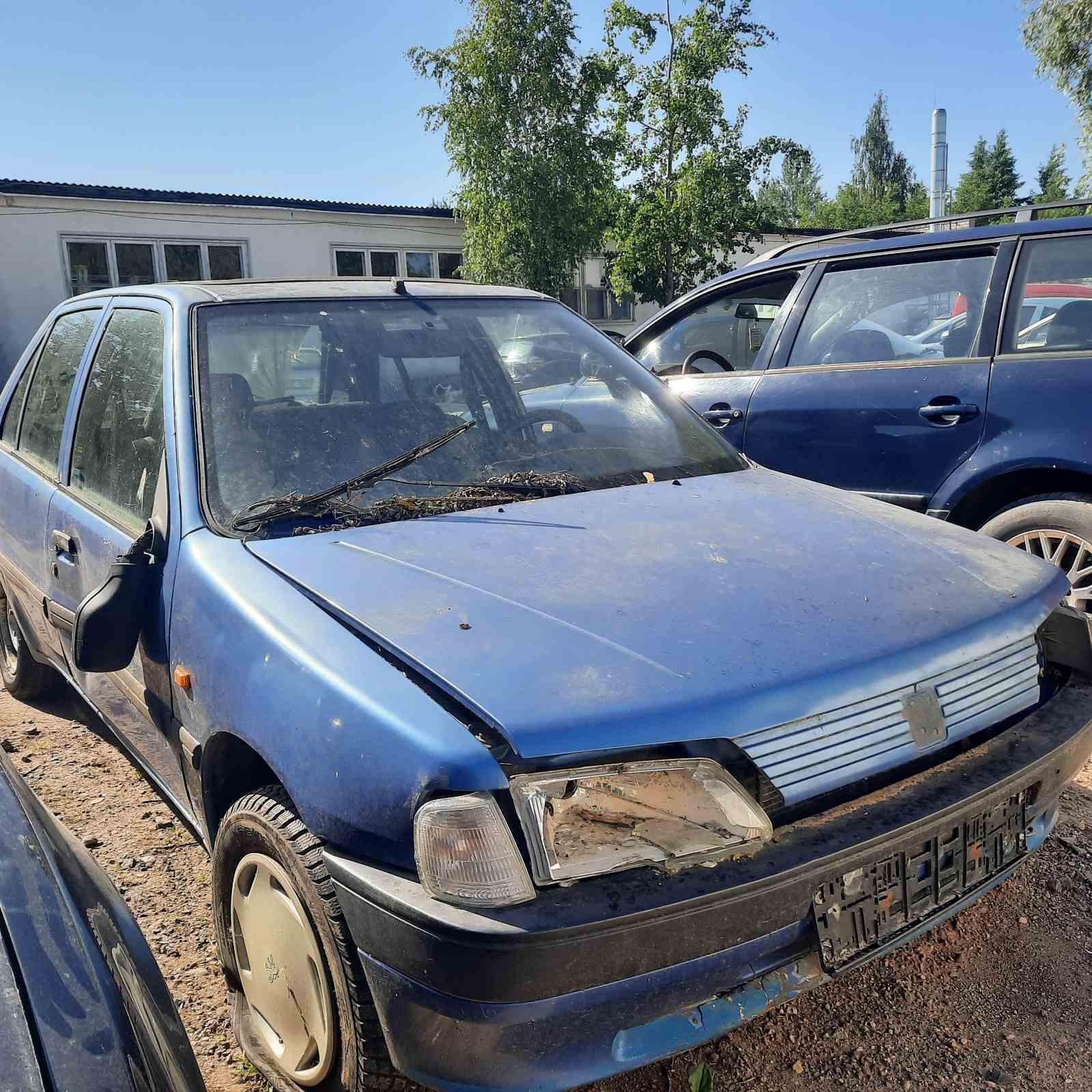 Naudotos automobilio dalys Peugeot 106 1995 1.5 Mechaninė Hečbekas 4/5 d. Melyna 2021-6-19