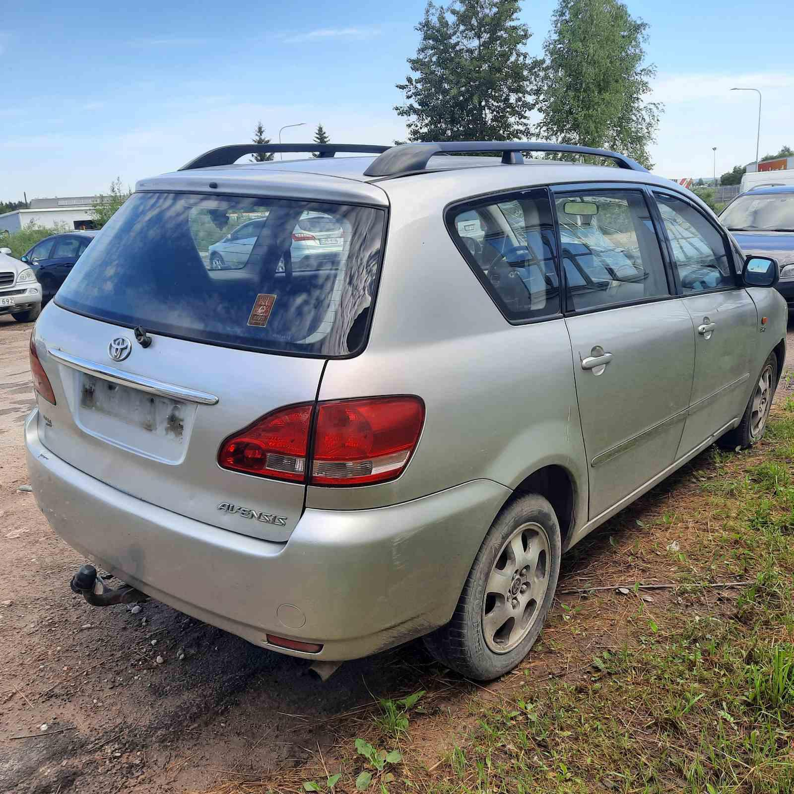 Naudotos automobiliu dallys Foto 8 Toyota AVENSIS VERSO 2002 2.0 Mechaninė Vienatūris 4/5 d. Pilka 2021-6-10 A6298