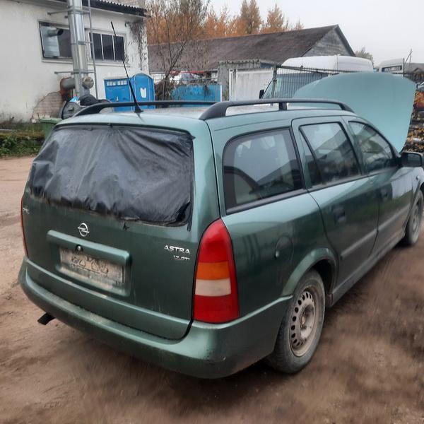 Naudotos automobiliu dallys Foto 4 Opel ASTRA 2000 1.7 Mechaninė Universalas 4/5 d. Zalia 2021-10-14 A6741