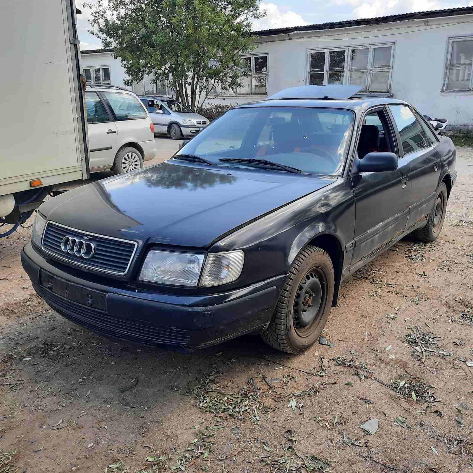 Naudotos automobiliu dallys Foto 2 Audi 100 1991 2.5 Mechaninė Sedanas 4/5 d. Juoda 2021-7-19 A6426