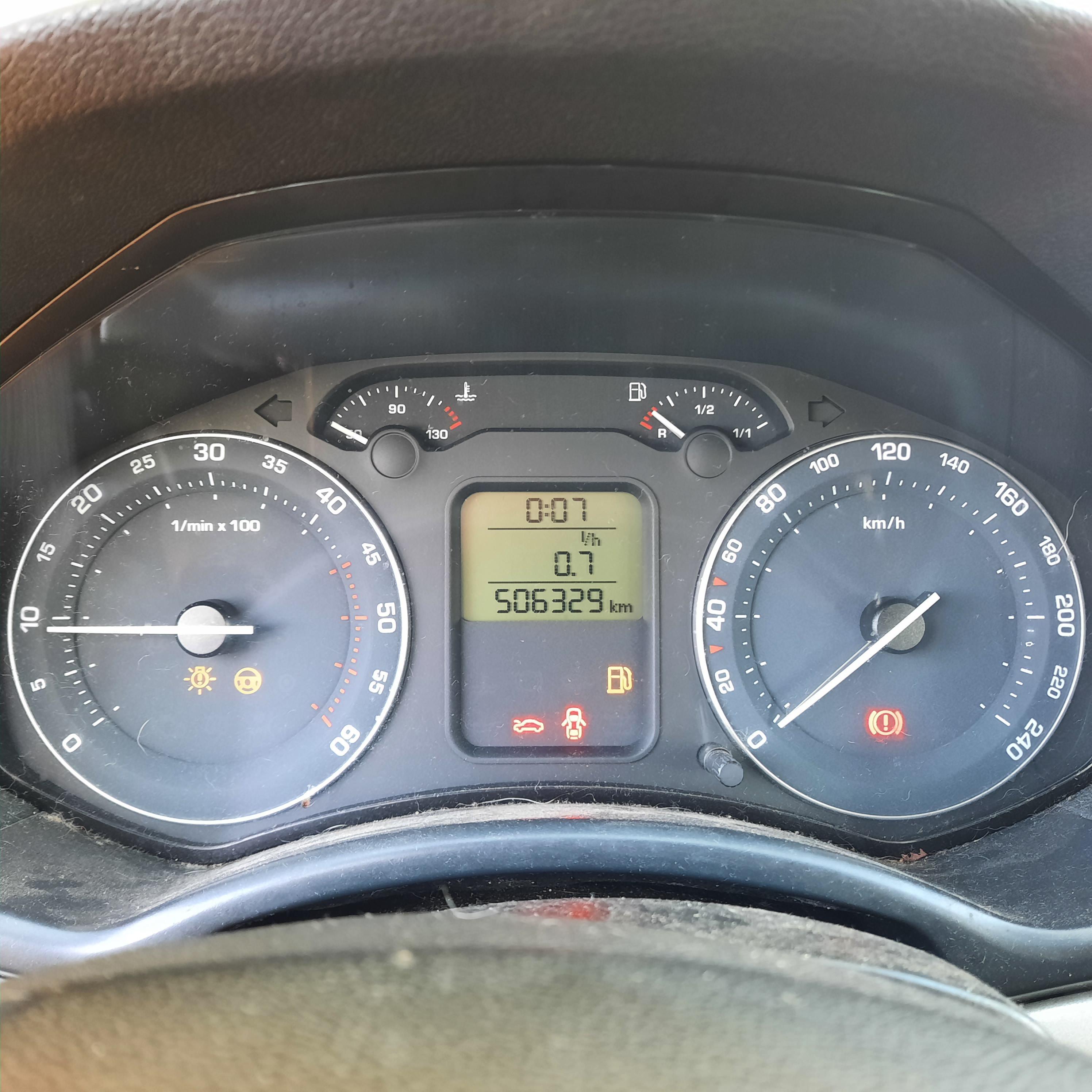 Naudotos automobiliu dallys Foto 5 Skoda OCTAVIA 2007 2.0 Mechaninė Universalas 4/5 d. Melyna 2021-9-15 A6655