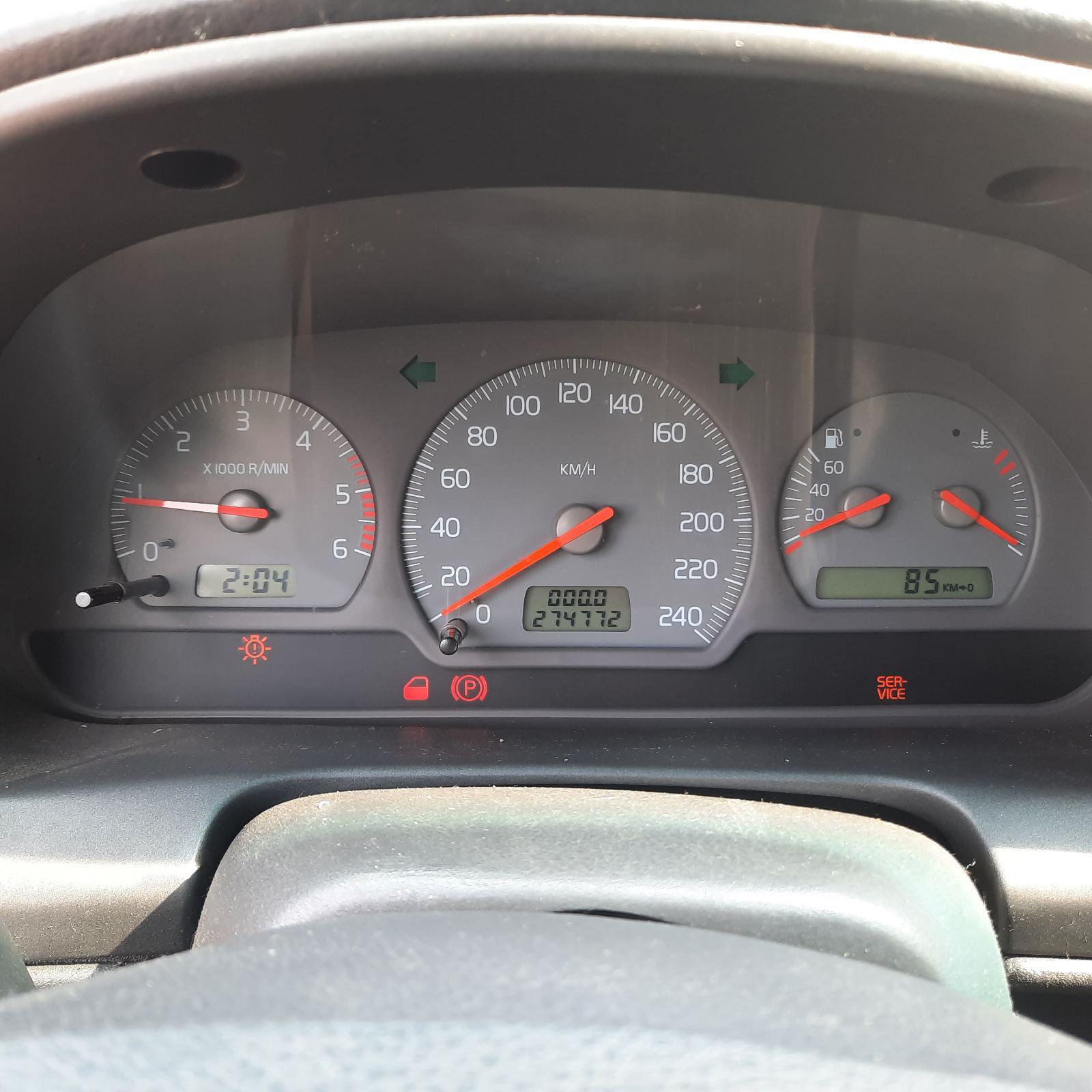 Подержанные Автозапчасти Volvo V40 1999 1.9 машиностроение универсал 4/5 d. черный 2021-7-27