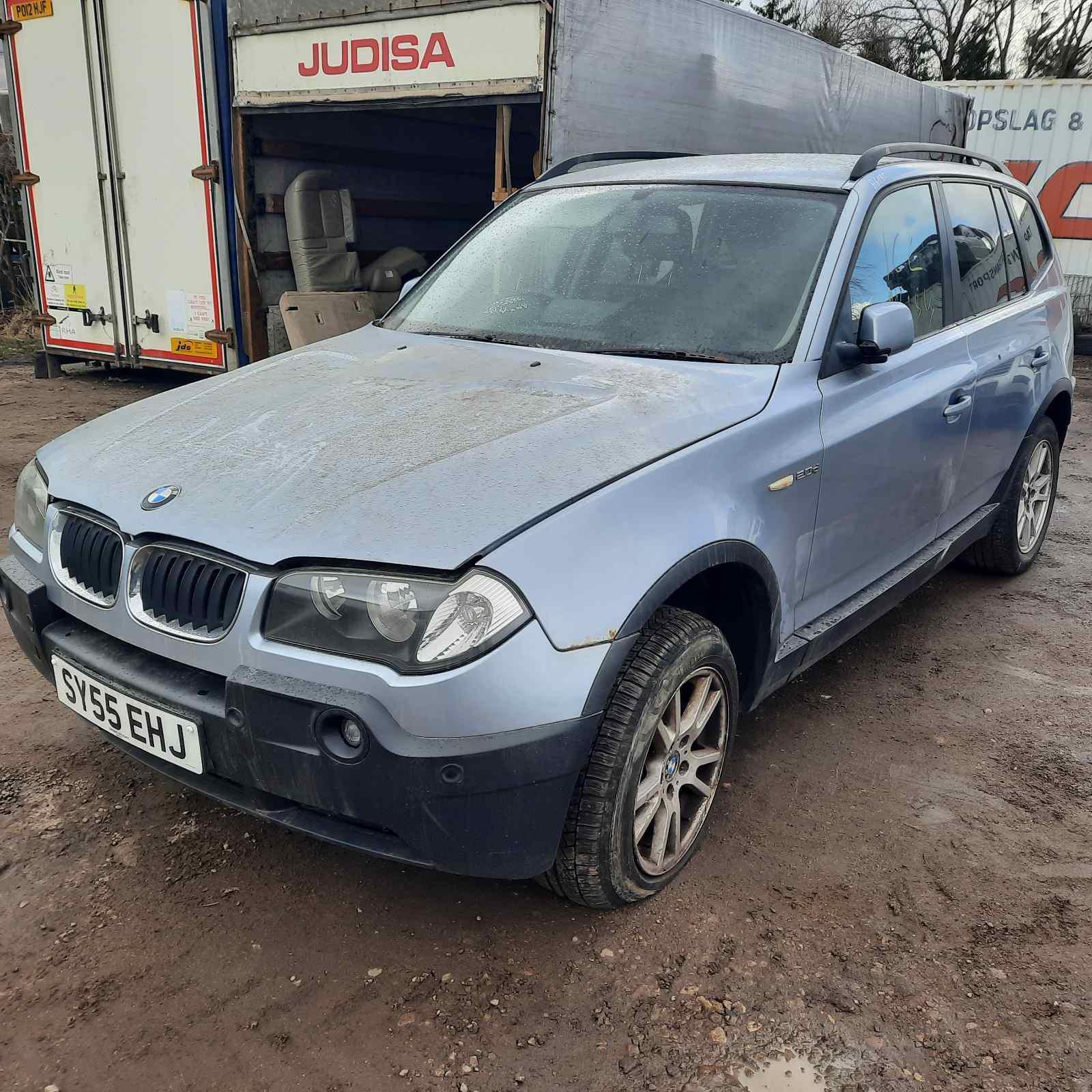 Naudotos automobiliu dallys Foto 3 BMW X3 2005 2.0 Mechaninė Visureigis 4/5 d. Melyna 2021-4-07 A6135