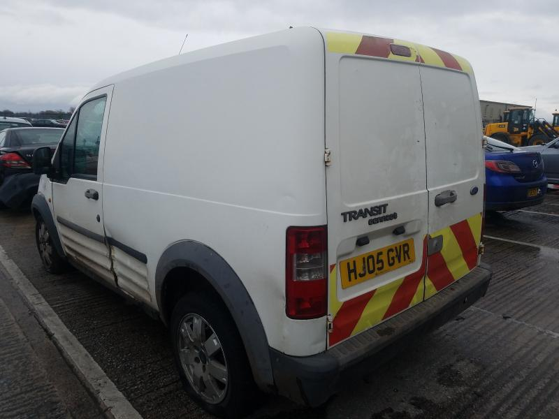 Used Car Parts Foto 4 Ford TRANSIT CONNECT 2005 1.8 Mechanical Commercial 2/3 d. white 2021-1-12 A6025